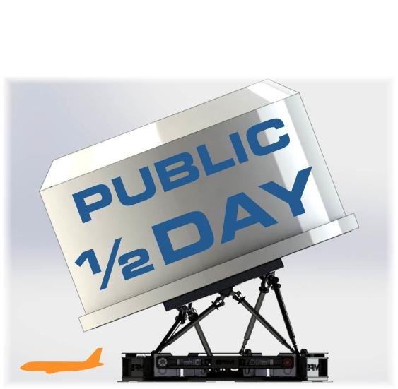 PUBLIC HALF DAY